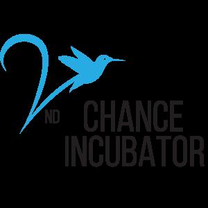 Second Chance Incubator Logo with bird
